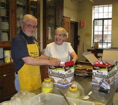 soup kitchen volunteers