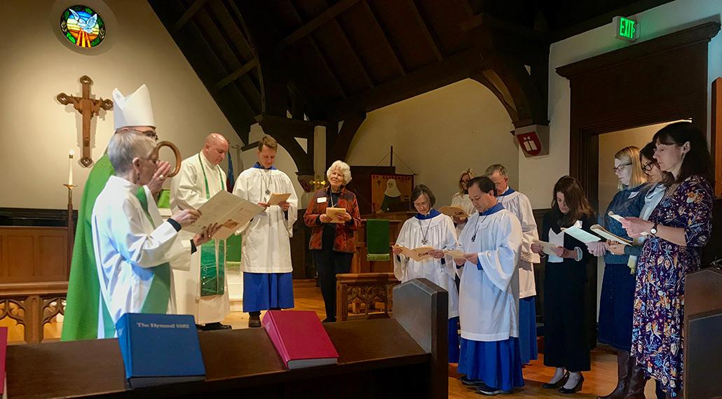 prayer at St. Elisabeth's